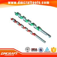 Buy cheap wood working high carbon steel auger drill bit from wholesalers