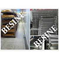 Buy cheap stainless steel 304 food Grade oven racks ,trays trolleys , steel food racks ,bakery   trolleys for bread production from wholesalers