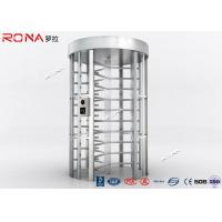 Buy cheap RFID Flexible Pedestrian Turnstile Gate , High Security Turnstile Heavy Duty Steel Frame product