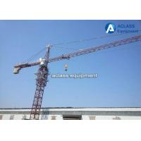 Buy cheap Hydraulic Hammerhead Tower Crane Monitoring system with Tied In Device from wholesalers