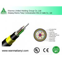 Buy cheap Aramid Yarn Fiber Optic Cable ADSS product