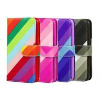 Buy cheap Colorful PU Custom Made Samsung Galaxy Phone Cases With Card Pocket product