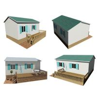 Buy cheap Philippines Movable Prefab House , Steel Frame Prefabricated Houses CE Certification from wholesalers