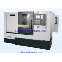 Buy cheap CK50 cnc lathe with slant rail from wholesalers