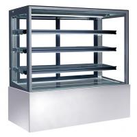 Buy cheap Air Cooling Refrigerated Cake Display Cabinets Cold With Storage & Freezing Function,1500mm product