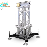 Buy cheap Aluminum Lighting Truss Lifting  Ground Support Truss System from wholesalers