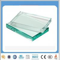 Buy cheap 12mm jumbo size clear tempered glass with certificate for bathrooms from wholesalers