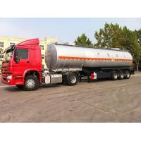 Buy cheap Oil tanker trailer for petrol transport 45000 liters fuel tanker trailer from wholesalers