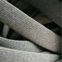 Buy cheap Durable Outdoor Furniture Rope , Light Grey Elastic Rubber Woven Ropes from wholesalers