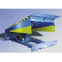 Buy cheap OEM Warehouse Loading Dock Leveler 10000 Kg Load With 400mm Lip Width from wholesalers