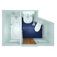 Buy cheap Marine/ship Sanitary/wet Unit with Bathtub/bathroom/shower toilet boat from wholesalers