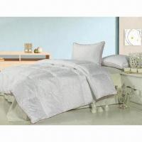 Buy cheap Duck/Goose Down/Feather Quilt, Available in Various Sizes from wholesalers