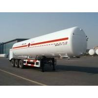 Buy cheap 45000L-3 Axles-Cryogenic Liquid Lorry Tanker for Liquid Ethylene from wholesalers
