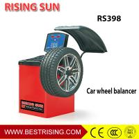 China CE Approved Semi Automatic Car Wheel Balancer Machine for Auto Garage on sale