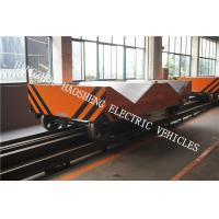 Buy cheap W Type Rail Flat Car Rail DC Voltage 36V Wireless / Line Control 50 Tons Load from wholesalers