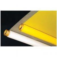 Buy cheap Yellow and White Polyester screen printing mesh for PVC Printing/Glass Printing, from wholesalers