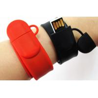 Buy cheap Promotional Wristband USB Flash Drives from wholesalers