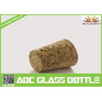 Wholesale wooden synthetic round small glass bottle wooden cork manufacturers,