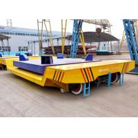 Buy cheap High temperature battery power billet transfer car on steel rails from wholesalers