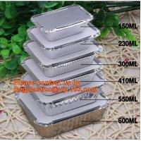 Buy cheap Disposable Aluminium Foil Tray, Container for Food Packaging, foil lunch box, aluminum lunch box, foil bowl, deli tray from wholesalers