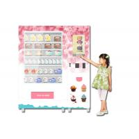 Buy cheap Refrigerated Cooling Food Vending Machine , Healthy Meal Vending Machine With Microwave from wholesalers