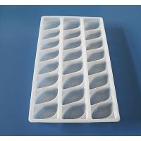 Buy cheap Disposable Plastic packaging tray for food frozen tray dumpling tray from wholesalers