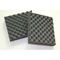 Buy cheap Soft High Density Black Acoustic Insulation Foam Customized EPDM Acoustical Foam from wholesalers