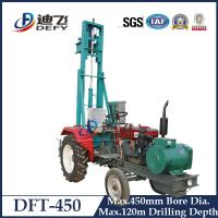 Buy cheap 120m Drilling Depth DFT-450 Tractor Mounted Water Boring Machines for Sale from wholesalers