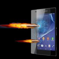 Buy cheap Anti Shatter 9H sony xperia z ultra screen protector glass protection film 0.33mm from wholesalers