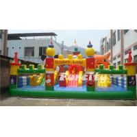 Buy cheap Disney Lene Inflatable Fun City / Inflatable Bouncer Paradise With Lovely Animal from wholesalers