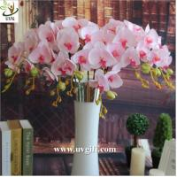 Buy cheap UVG China supplier make artificial flower arrangements in silk orchid flowers for sale from wholesalers
