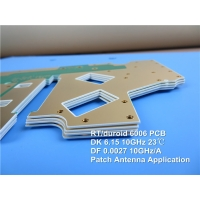 Buy cheap Rogers RT/Duroid 6006 High Frequency PCB with green solder mask from wholesalers