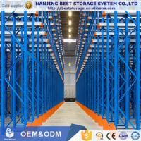 Buy cheap Save storage space High quality Steel selective drive in pallet rack for warehouse storage from wholesalers
