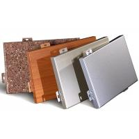 Buy cheap Metal Aluminum Cladding Panel , Insulated Interior Exterior Wall Cladding Sheets from wholesalers
