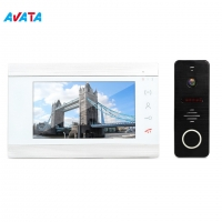 Buy cheap 4 wire video door phone home security camera system household video doorphone from wholesalers