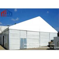 Durable Waterproof Outdoor Warehouse Tents Sandwhich Panel Wall Aluminum Frame