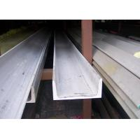 Buy cheap 304 U Stainless Steel Channel Cold / Hot Rolled With Strong Corrosion Resistance from wholesalers