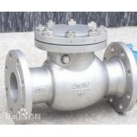 Buy cheap Nozzle Check Valve for Pipeline Valve with Stainless Steel Material from wholesalers