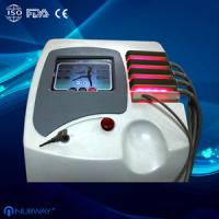 Buy cheap New arrival lipo laser AC 110V / 60Hz RF beauty machine for body slimming from wholesalers