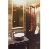 Buy cheap Coated Decorative Bathroom Shower Glass High Transmittance For Bathroom Shower Enclosure from wholesalers