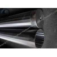 Buy cheap Strong Structure Welded Wedge Wire Screen With Center Circular Hole from wholesalers