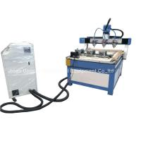 Buy cheap 3 Heads 3 Rotary Axis Wood Metal Stone CNC Engraving Cutting Machine product