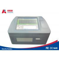 Buy cheap Benchtop Bottle Liquid Scanner Explosive Detection System ZAD1000 Visual Alarm from wholesalers