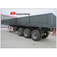 Buy cheap Tri Axle Wallside Cargo Semi Trailer , 40ft Side Loader Container Truck from wholesalers