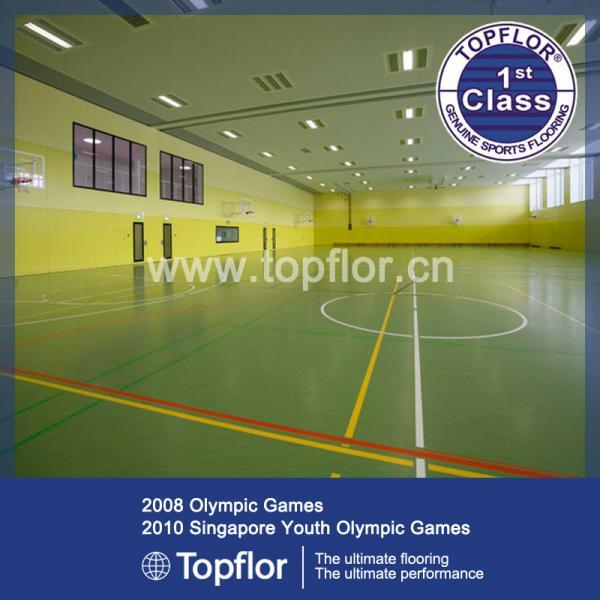 Indoor sports flooring basketball flooring prices 102605999 for Indoor basketball flooring prices