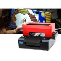 Buy cheap Small Format Digital T Shirt Printing Machine 420×300 Mm High Color Density from wholesalers