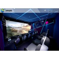 Buy cheap Theme Park 7D Motion Film Theater Equipment With Attracting 12 Dynamic Special Effects from wholesalers