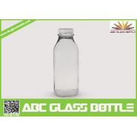 Buy cheap Clear regular 10 oz. glass bottles for milk from wholesalers