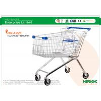 Buy cheap Zinc Plating European style Supermarket Shopping Trolleys A Series HBE-A-150L from wholesalers