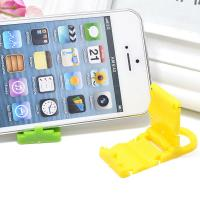 Buy cheap PP Folding Cell Phone Stand Plastic Phone Accessories Display Stand from wholesalers